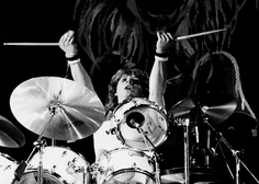 Iron Maiden Drummer Clive Burr