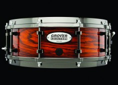 Check out Grover's new custom snare drums, which are reviewed in the July 2014 issue of <em>Modern Drummer</em> magazine.