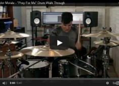"Hello, <em>MD</em> readers. I'm Steve from the band the Color Morale, and I wanted to fill you in on the drumming for our song ""Prey For Me,"" from our latest album, <em>Hold On Pain Ends</em>...."