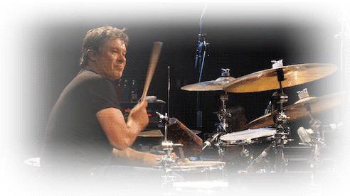 Drummer David Uosikkinen