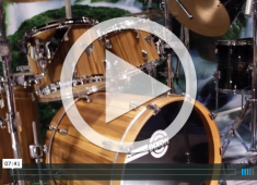 In this video from NAMM 2015, Dixon drums brand manager, Jim Uding, shows us an assortment of sets, hardware, and snare drums available from Dixon for 2015....