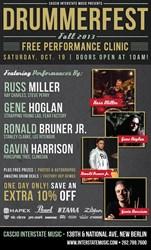 Thirteenth-Annual DrummerFest Taking Place October 20