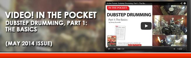 Modern Drummer Magazine Dubstep
