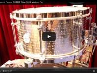 <b>VIDEO - Dunnett Classic Drums NAMM Show 2014 New Gear Coverage</b>