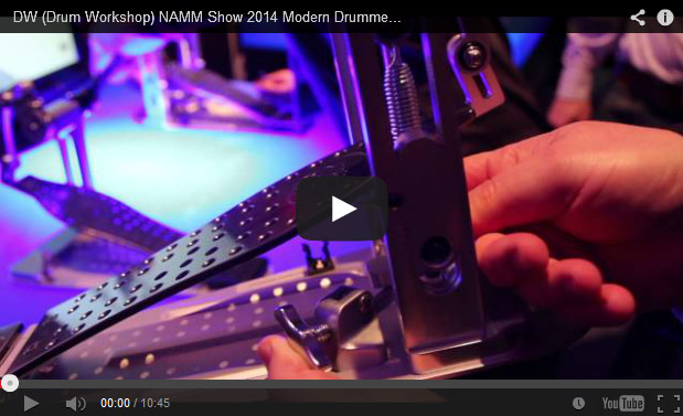 VIDEO - DW (Drum Workshop) NAMM Show 2014 New Gear Coverage