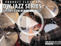 Product Close-Up: DW Jazz Series Cherry/Gum Bebop Drumset (From A...