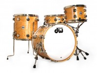 Product Close-Up: DW Collector's Series Cherry Drumset (April 201...