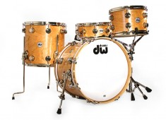 Check out DW's new all-cherry drumset, reviewed in the April 2014 issue.