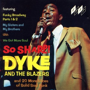 Dyke and the Blazers - So Sharp (album cover)