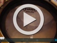 Evans Drumheads at NAMM 2015 (VIDEO)
