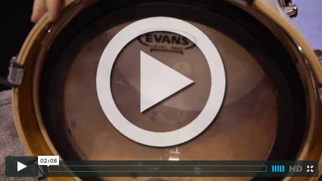 Evans Drumheads at NAMM 2015 (VIDEO)