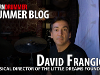 "Hello Fellow Drummers, my name is David Frangioni and I started playing the drums at age two. I lost one eye to cancer shortly thereafter and realized music is my passion. After years of my childhood playing, practicing, studying with Alan Dawson and Joe Morello, along with a drive to be the ""world's greatest drummer,"" I found myself passionate about music technology...."