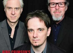 See what's in the February 2015 Issue of <em>Modern Drummer</em> featuring King Crimson's Pat Mastelotto, Gavin Harrison, and Bill Rieflin.