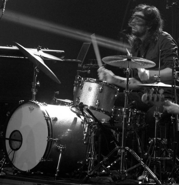 Drummer Fred Eltringham