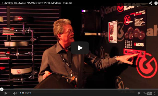 VIDEO Gibraltar Hardware NAMM Show 2014 New Gear Coverage