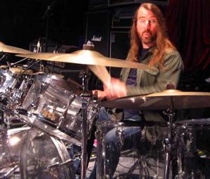 Drummer Glen Graham of Blind Melon