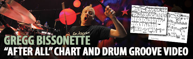 "# Gregg Bissonette ""After All"" Chart and Drum Groove Video"