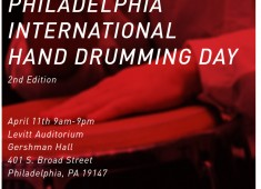 """On April 11, 2015, the University of the Arts will host the second edition of the """"Philadelphia International Hand Drumming Day."""""""