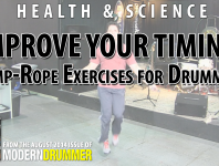 Click here to check out a video lesson on how to use jump rope to improve your timing.