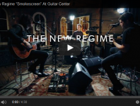 """Nine Inch Nails/Angels and Airwaves drummer Ilan Rubin has been creating music under the New Regime banner for nearly a decade. The multi-instrumentalist recently dropped by the Guitar Center Hollywood Vintage room to play and talk about the musical process and the stories behind his songs, including the track """"Smokescreen,"""" from the New Regime's latest release, Exhibit B. Helping out Ilan are Hayden Scott on drums and Daniel Rubin on bass. Check out the performance below, and keep your eyes open for more with Rubin in an upcoming issue of Modern Drummer magazine...."""
