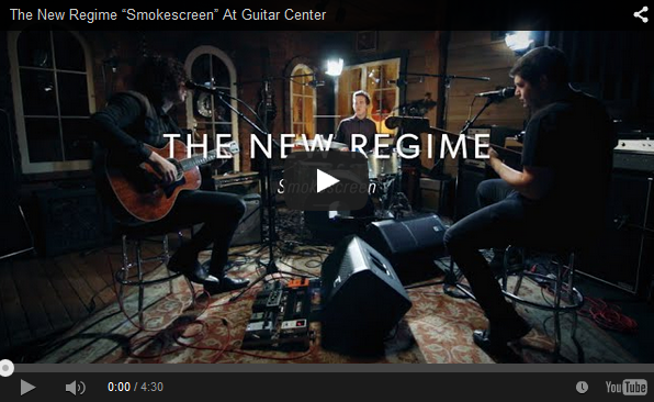 "Ilan Rubin Performs and Discusses ""Smokescreen,"" from the New Regime's Exhibit B"