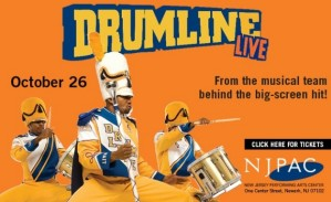 Drumline at NJPAC