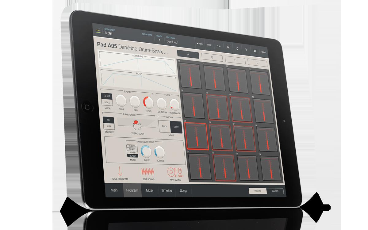 Akai Professional iMPC Pro iPad app is now available!