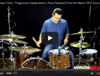 Rock & Jazz Clinic: Progressive Independence: Rock Revisited ...