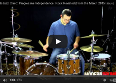 In the article we walk you through some of the ways that you can expand on the exercises in Ron Spagnardi's classic book Progressive Independence: Rock.