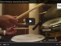 VIDEO! Jazz Drummer's Workshop: Approaching Standards, Part 2: Me...