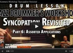 Welcome to the final installment of our series on ways to interpret the classic Ted Reed book Progressive Steps to Syncopation for the Modern Drummer. The following applications...