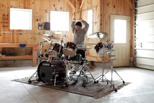 Drummer Jon Fishman of Phish