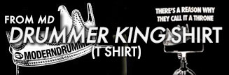 """Drum King"" T-shirt"