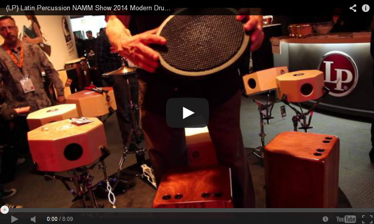 VIDEO - (LP) Latin Percussion NAMM Show 2014 New Gear Coverage