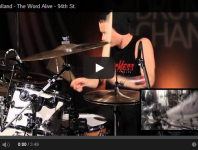 "VIDEO: The Word Alive's Luke Holland: ""94th St."" Playalong"