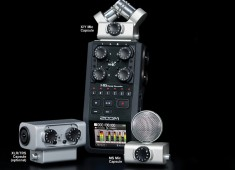 Check out the Zoom H6 Handy Recorder, which is reviewed in the September 2014 issue.