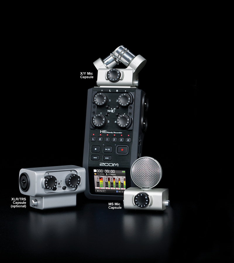 Electronic Review Zoom H6 Handy Recorder From The