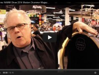 <b>VIDEO - Mapex Drums NAMM Show 2014 New Gear Coverage</b>