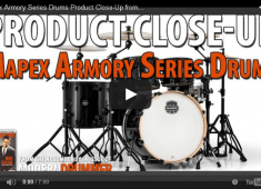 In an industry that's saturated with options, unique offerings like a snare drum exchange program, maple/birch hybrid shells, and the new SONIClear bearing edge make the Armory series a true standout.