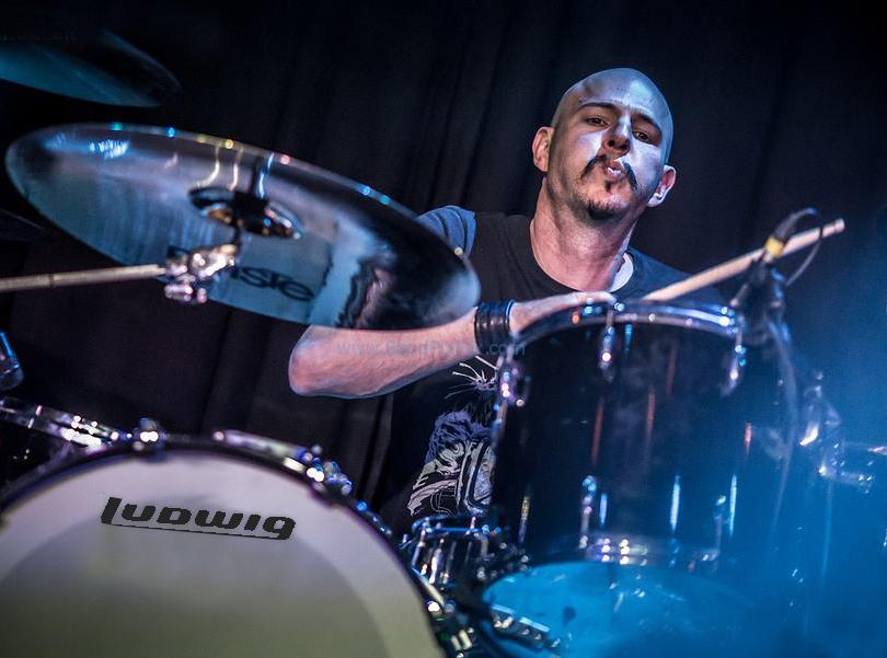 Drummer Matt Starr (aka Dr. Starr)