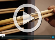 In this video from NAMM 2015, Elija Novarro, Promark product specialist for D'Addario & Company, shows us the company's new point-of-purchase display and three new signature model drumsticks.....