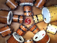 Showroom: Introducing Sugar Percussion's Stave-Built Custom Drums