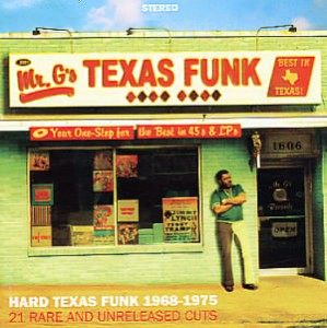 Mr G's - Texas Funk (album cover)