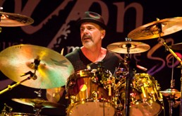 <b>Danny Seraphine and CTA debut new CD 'Sacred Ground' at NAMM</b>