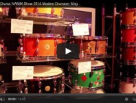 <b>VIDEO - Gretsch Drums NAMM Show 2014 New Gear Coverage </b>
