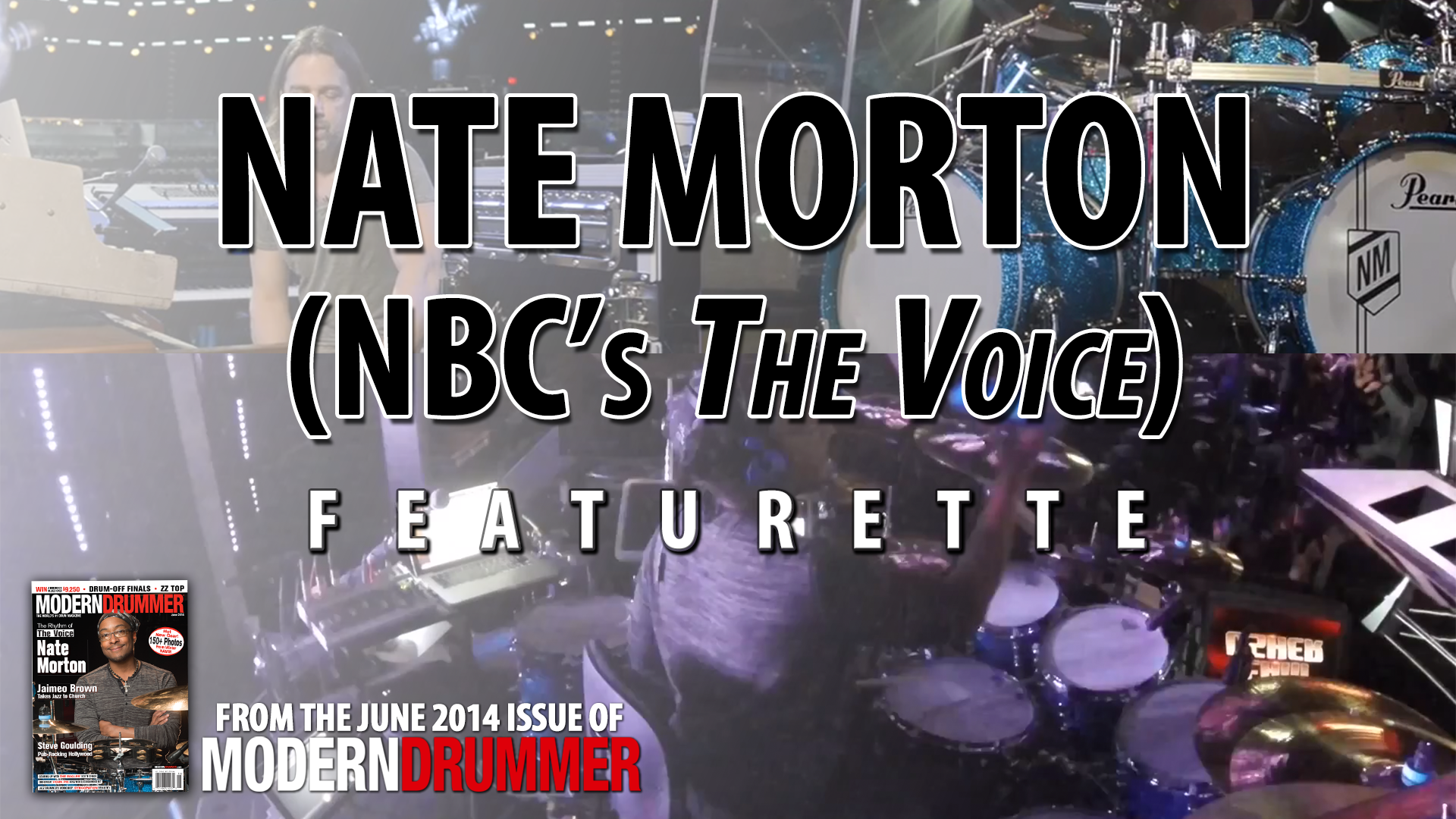 VIDEO - Nate Morton of NBC's the Voice Behind the Scenes Featurette