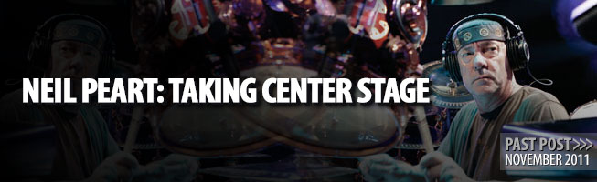 # Neil Peart: Taking Center Stage