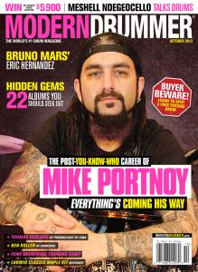 Mike Portnoy Drummer | Modern Drummer Archive