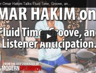 <b>Omar Hakim Video Fluid Time, Groove, and Listener Anticipation</b>