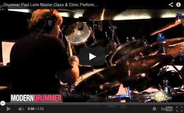 Paul Leim at the 2012 Regina Drum Festival